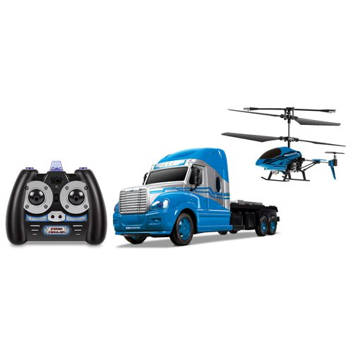 World Tech Toys MegaHauler 3.5-Channel RC Helicopter and Truck IR Combo - view number 1