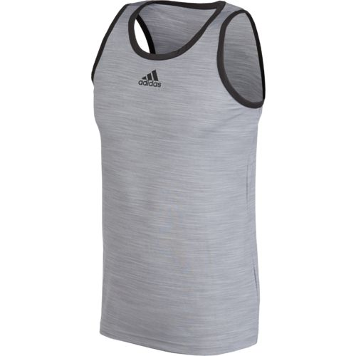 adidas™ Men's Heathered Tank Top