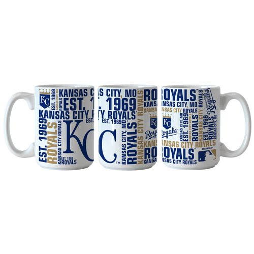 Boelter Brands Kansas City Royals Spirit 15 oz. Coffee Mugs 2-Pack