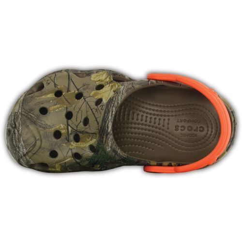 Crocs Kids' Swiftwater Realtree Xtra Clogs - view number 4