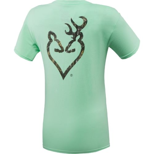 Display product reviews for Browning Women's Buckheart T-shirt