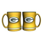 Boelter Brands Green Bay Packers 14 oz. Relief Mugs 2-Pack