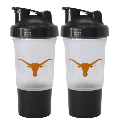 Boelter Brands University of Texas 16 oz. Protein Shakers 2-Pack