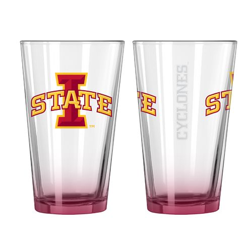 Boelter Brands Iowa State University Elite 16 oz. Pint Glasses 2-Pack