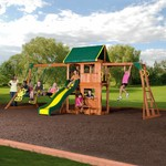 Backyard Discovery™ Prairie Ridge Wooden Swing Set - view number 2