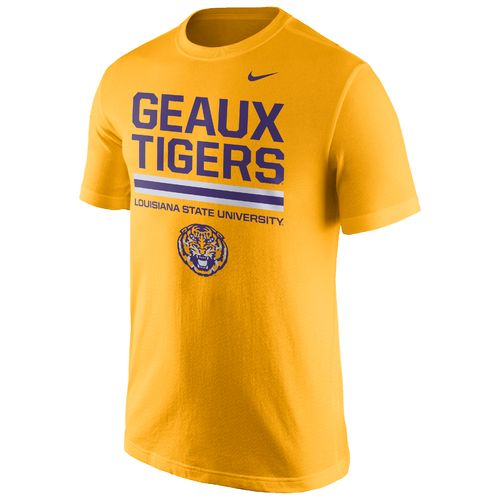 Nike™ Men's Louisiana State University Local Verbiage Short Sleeve T-shirt - view number 1