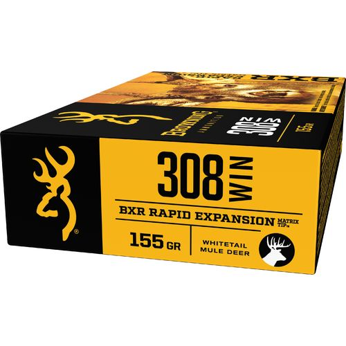 Browning Deer Hunting .308 Winchester 155-Grain Rifle Ammunition - view number 3