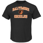 Majestic Men's Baltimore Orioles Heart and Soul T-shirt
