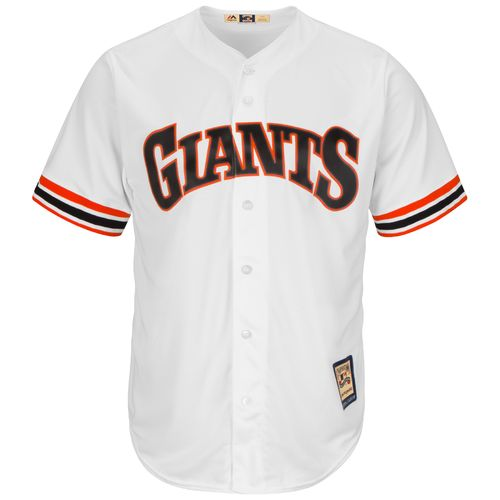 Majestic Men's San Francisco Giants Cooperstown Cool Base 1982 Replica Jersey - view number 1