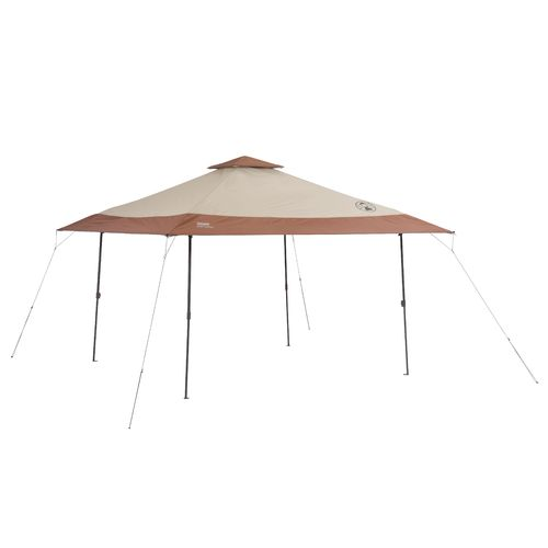 Coleman™ 13' x 13' Instant Eaved Shelter Beige/Medium Brown - Tents And Tarps, Canopy Car Ports at Academy Sports -  2000023972