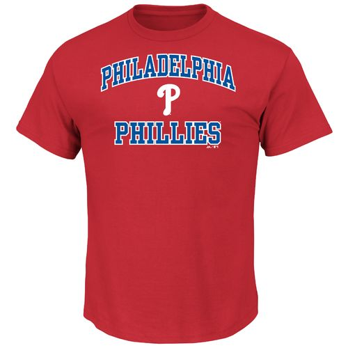 Majestic Men's Philadelphia Phillies Heart and Soul T-shirt