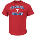 Majestic Men's Philadelphia Phillies Heart and Soul T-shirt - view number 1