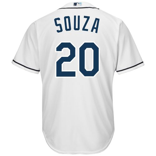 Majestic Men's Tampa Bay Rays Steven Souza #20 Cool Base Replica Jersey