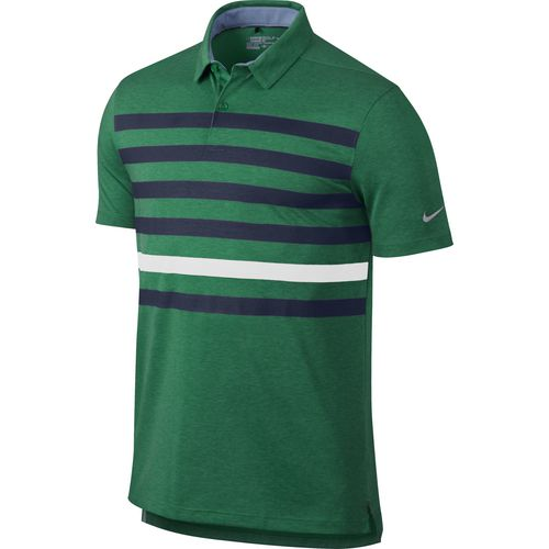 Display product reviews for Nike Men's Transition Stripe Polo Shirt