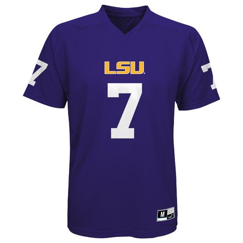 Gen2 Boys' Louisiana State University Player #7 Performance T-shirt