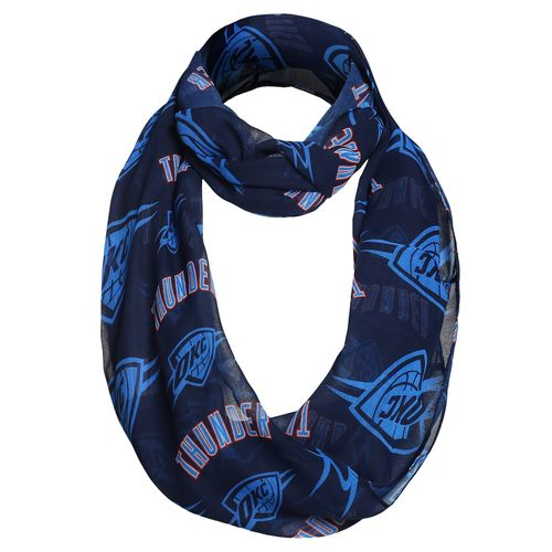 Forever Collectibles™ Women's Oklahoma City Thunder Team Logo Infinity Scarf