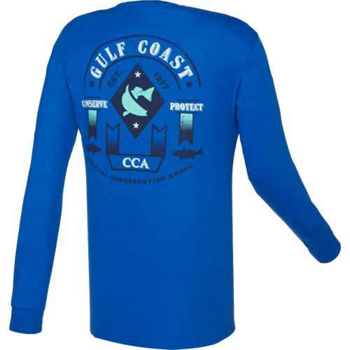 CCA™ Men's Gulf Coast Long Sleeve T-shirt