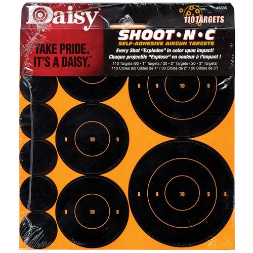 Daisy® Shoot*N*C Paper Targets 110-Pack