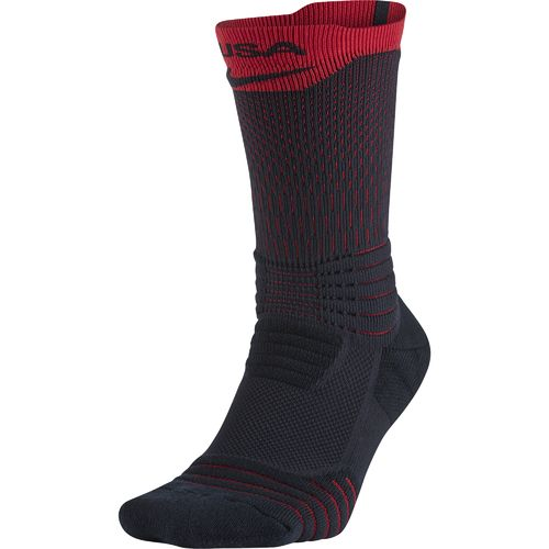 Nike Adults' Elite Versatility USAB Crew Basketball Socks