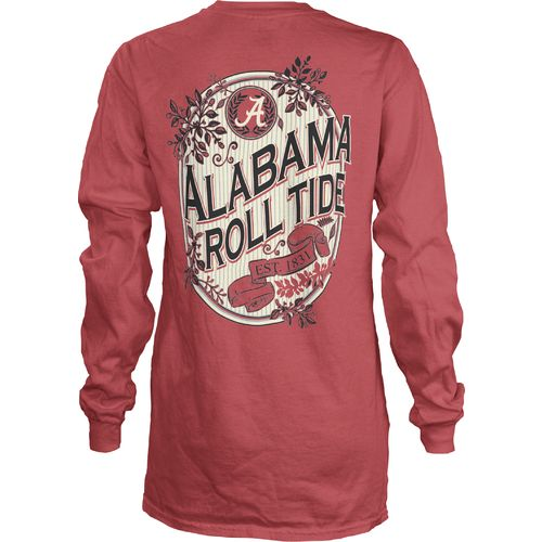 Three Squared Juniors' University of Alabama Maya Long Sleeve T-shirt