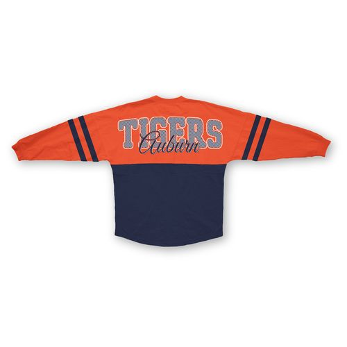 Three Squared Juniors' Auburn University Varsity Script Logo Sweeper T-shirt