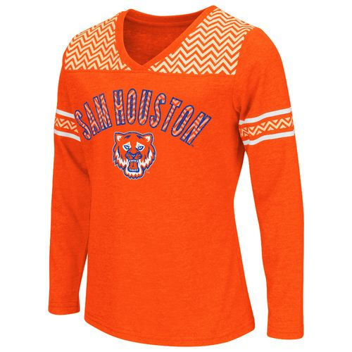 Colosseum Athletics™ Girls' Sam Houston State University Cupie Long Sleeve T-shirt