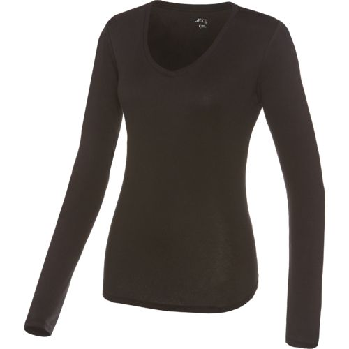 BCG Women's Horizon V-neck Long Sleeve Top