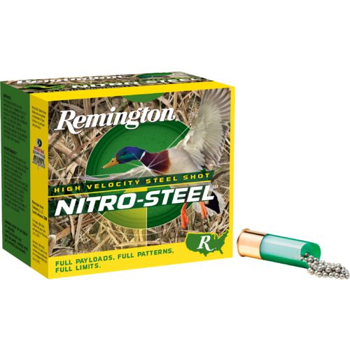 Display product reviews for Remington NITRO-STEEL High Velocity Magnum Loads 12 Gauge Shotshells