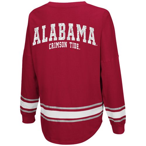 Colosseum Athletics™ Women's University of Alabama My Boyfriend Varsity Pullover