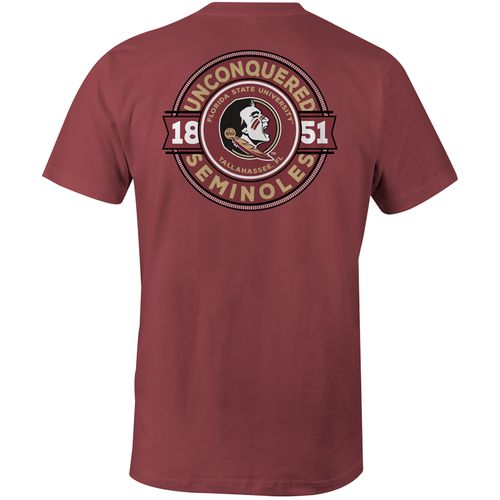 Image One Men's Florida State University Rounds Comfort Color T-shirt