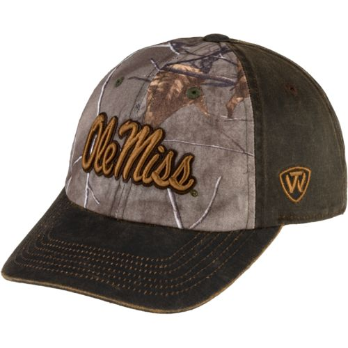Top of the World Men's University of Mississippi Driftwood Cap