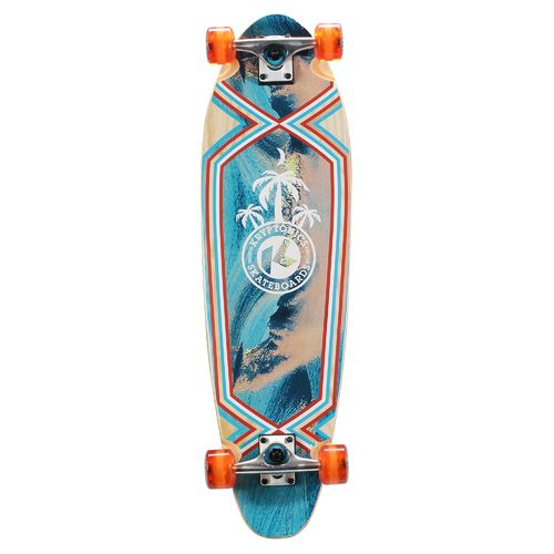 "Kryptonics Three Palms 33"" Long Base Longboard"