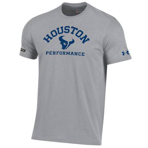 Under Armour™ NFL Combine Authentic Men's Houston Texans Arch Logo Charged Cotton® T-s
