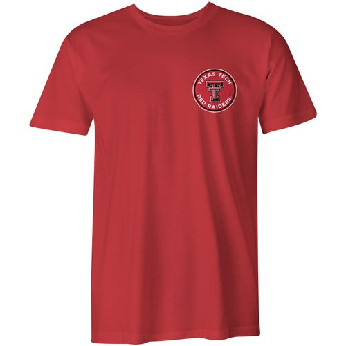 Image One Men's Texas Tech University Rounds Comfort Color Short Sleeve T-shirt - view number 2
