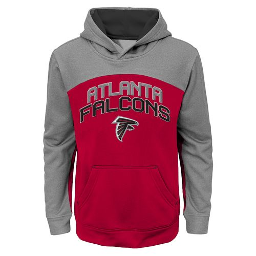 NFL Boys' Atlanta Falcons Arc Pullover Hoodie