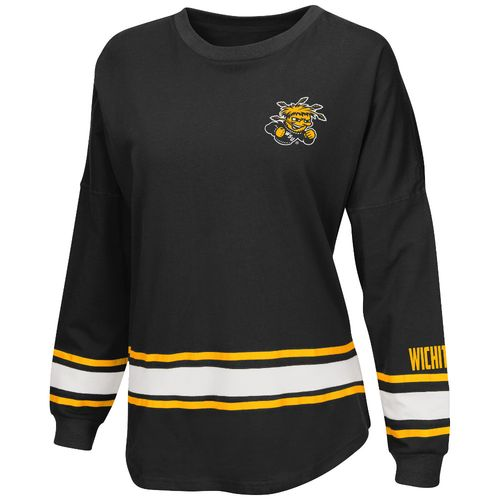 Colosseum Athletics™ Women's Wichita State University All Around Oversize Long Sleeve T-shi