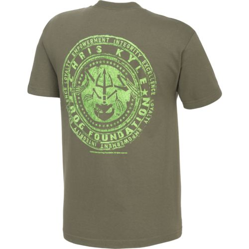 Club Red Men's Chris Kyle Frog Foundation Short Sleeve T-shirt