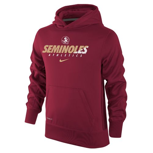 Nike Boys' Florida State University Therma-FIT KO Hoodie