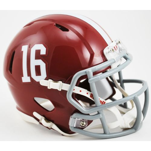 Riddell University of Alabama #16 Speed Mini Helmet