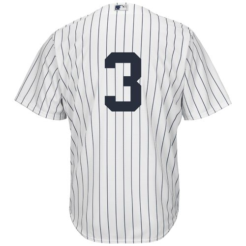 Majestic Men's New York Yankees Babe Ruth #3 Number Only Cool Base Replica Jersey