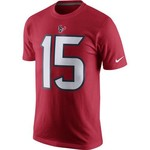 Nike Men's Houston Texans Will Fuller 15 Player Pride Name and Number T-shirt - view number 2