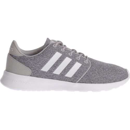 d73ae5a8fe37 Adidas Women s Cloudfoam QT Racer Running Shoes (Clear Onix Footwear White