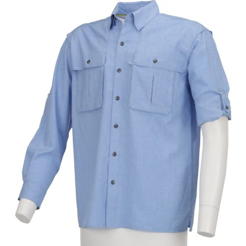 Magellan Outdoors Men's Back Country Heather Long Sleeve Shirt - view number 1