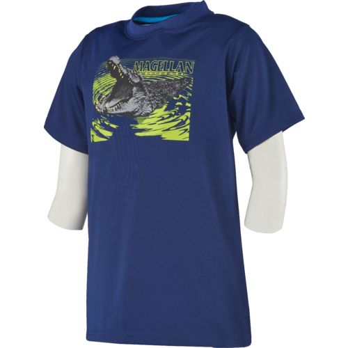 Magellan Outdoors Boys' Reflective Alligator Graphic T-shirt