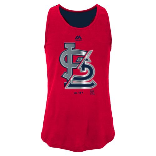 MLB Girls' St. Louis Cardinals Stadium Graphic Tank Top
