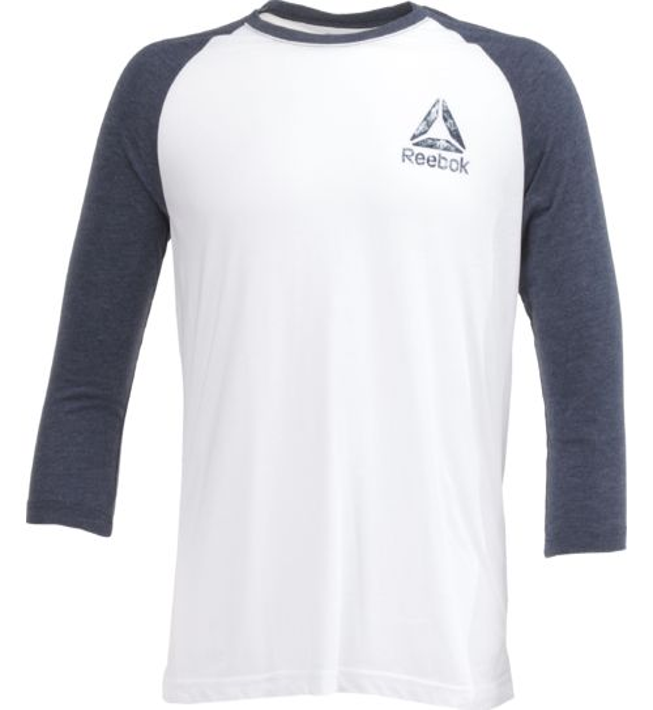 Display product reviews for Reebok Men's Delta Baseball T-shirt