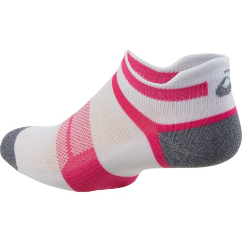 ASICS® Women's Quick Lyte™ Cushioned Single Tab Ankle Socks 3 Pairs - view number 2