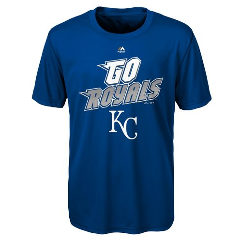 MLB Boys' Kansas City Royals Loud Speaker T-shirt