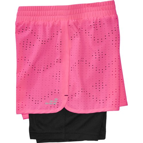 BCG Girls' Laser Cut Twofer Short - view number 4