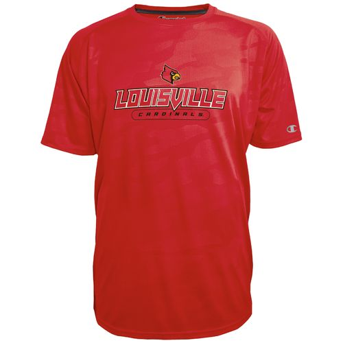 Champion™ Men's University of Louisville Impact Embossed T-shirt